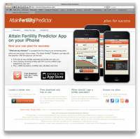 Attain Fertility Predictor Website