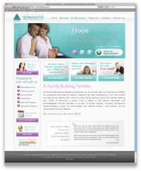 Arizona Fertility Website