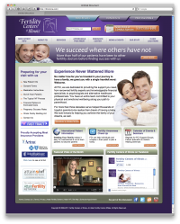 Fertility Centers of Illinois Website