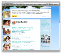 Attain Fertility – Twitter