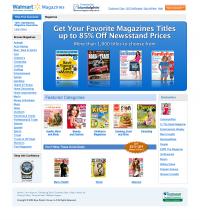 Walmart Landing Page